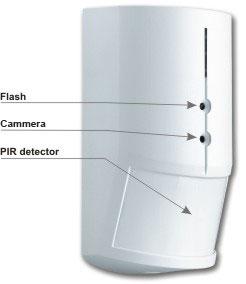 PIR detektor sa kamerom