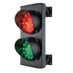 Semafor sa LED svetlom crveno-zeleno
