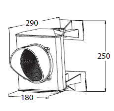 Dimenzije ASF50L1RV
